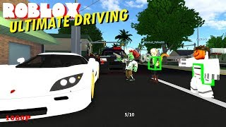 Roblox ULTIMATE DRIVING 11 - SHOTS FIRED AT POLICE