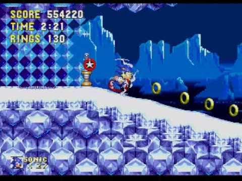 Sonic 3 - No Hit Run - Ice Cap Zone Act 1