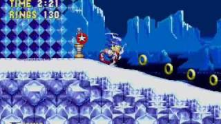 Sonic 3 - No Hit Run - Ice Cap Zone Act 1