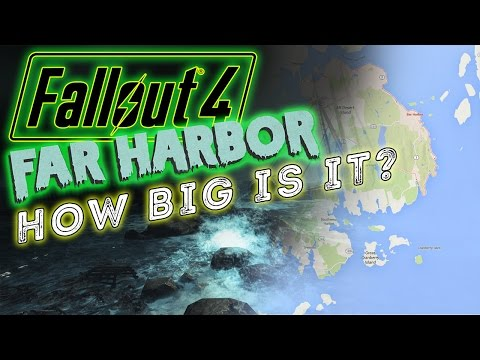 Fallout 4's Far Harbor DLC Map Will Be As Large As Fallout 3?