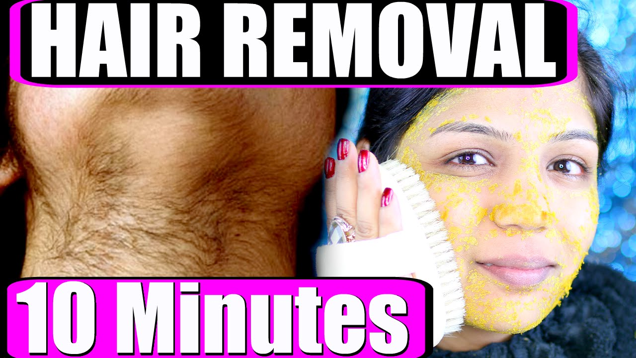 Removal make facial hair grow