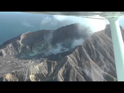 White Island small volcano, New Zealand