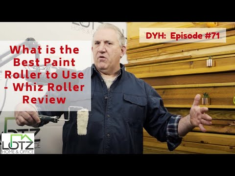 What Is The Best Paint Roller To Use Whizz Roller Review Youtube