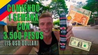UNA SEMANA COMIENDO POR 3500$