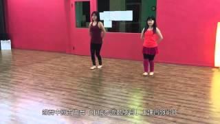 蝶舞美體芭蕾舞旋轉練習上課實錄影片