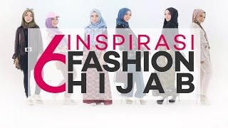 6 Inspirasi Fashion Hijab