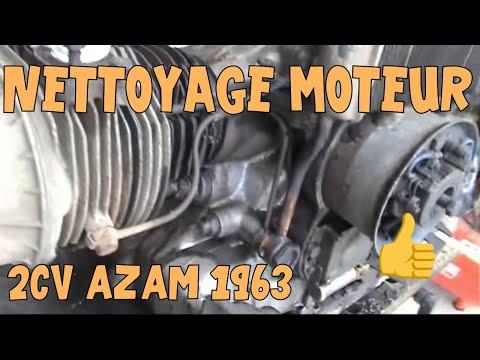 Tutoriel 2cv 03 Nettoyage Moteur Youtube