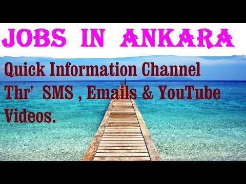 Jobs  in  ANKARA   City for freshers & graduates. industries, companies. TURKEY
