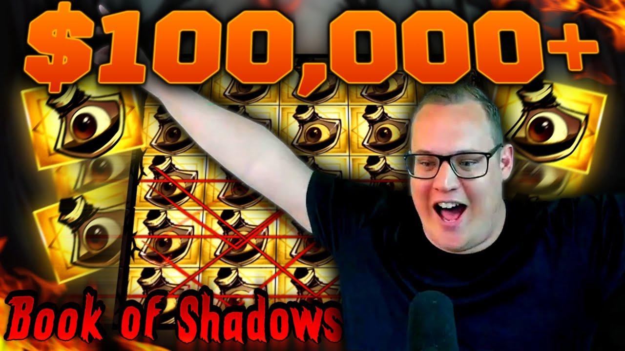 BOOK OF SHADOWS FULLSCREEN! (High Stakes Mega Win)