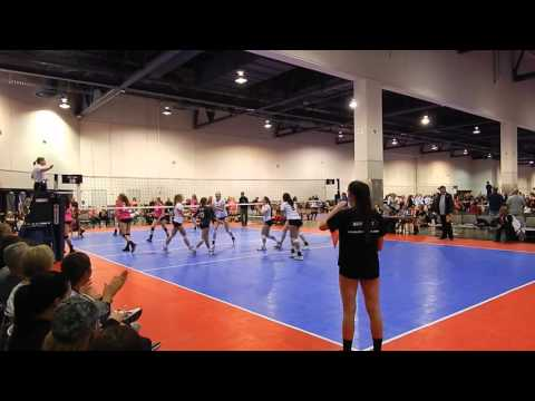 Kayla Matthews Volleyball-EVJ 16N1 vs ARVC Shock 16s