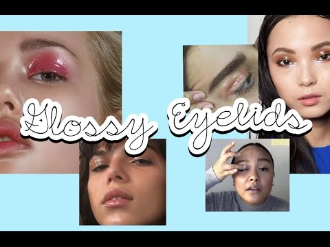 How to: Glossy Eyelid Makeup with Alyssa   Couturesque Magazine