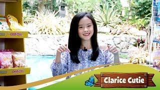 Clarice Cutie yuk bIkin Unicorn Castle pakai Marshmallow Chomp Chomp