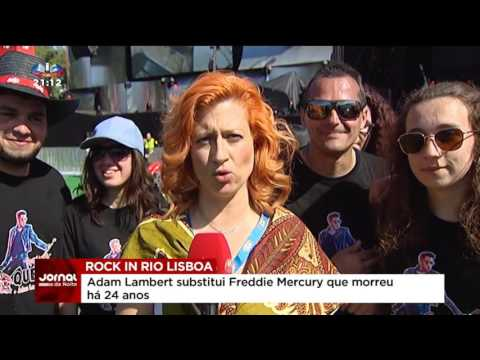 Rock in Rio Lisboa - Jornal da Noite SIC