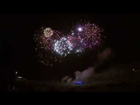 Osmond Nebraska Q125 Fireworks Finale FULL Show