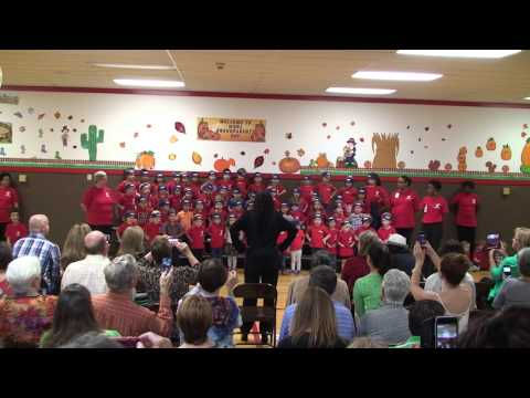 White Rock North School Pre-School Grandparents Day Program