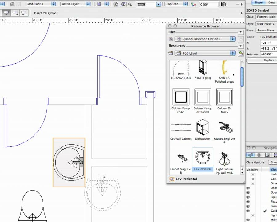 Symbol Insertion Options In Vectorworks Youtube