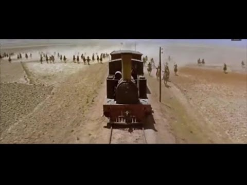 Epic Train Chase Scene with The Lone Wanderer by Antti Martikianen.