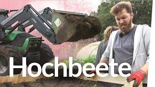 Hochbeete bauen mit Jonas, Waldo und Hauke | Kliemannsland