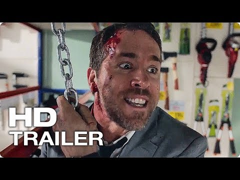 Телохранитель киллера — Русский трейлер #2 (2017) [HD] | Смешная Комедия (18+) | Кино Трейлеры