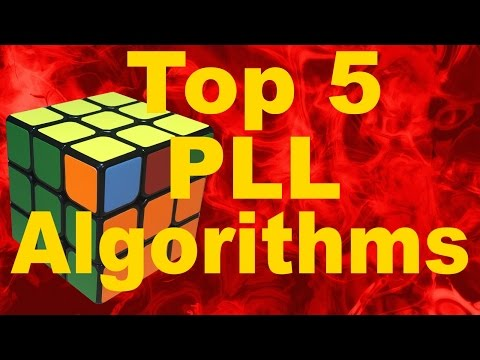 My Top 5 Favorite PLL Algorithms