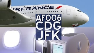 Air France Airbus A380 Business Class | CDG - JFK