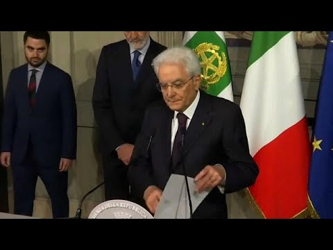 Italy in crisis as President vetoes key government nomination