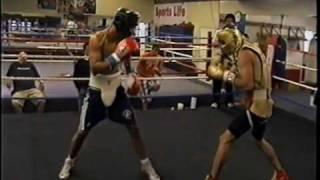 Argenis Mendez vs Jorge Linares sparring .........