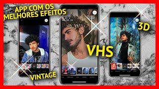 APLICATIVO DE EFEITOS MAIS USADO NO MOMENTO | app para Android e iOS