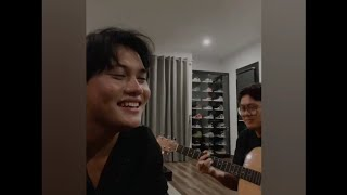 Rizky Febian Seperti Kisah Acoustic Version Live Instagram