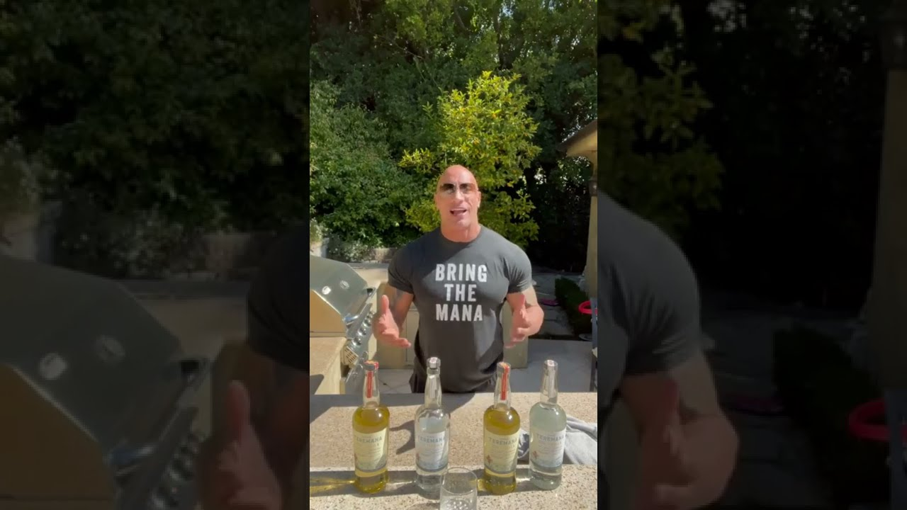Dwayne 'The Rock' Johnson Celebrates Teremana Tequila's First Birthday