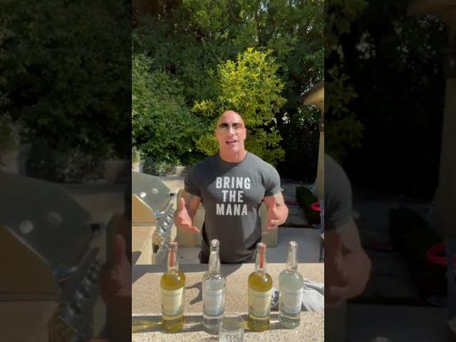 Dwayne 'The Rock' Johnson Celebrates Teremana Tequila's First Birthday