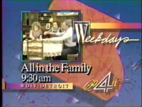 1986 WDIV: All in the Family Promo