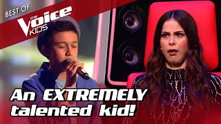 13-Year-Old OVERWHELMS coaches with FLAWLESS covers in The Voice Kids