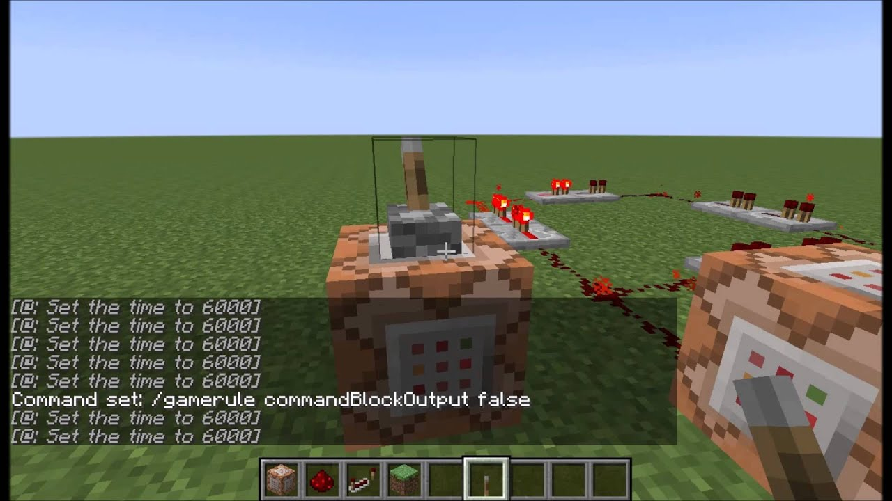 How to make a command block in minecraft 97