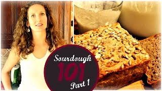 Sourdough Bread 101 (part 1) | How To Make A Wild Yeast Starter From Scratch | Vitalivesfree