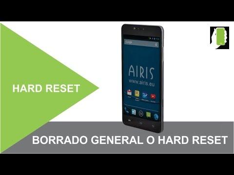 AIRIS Hard Reset O Borrado General  / Restaurar / Quitar Contraseña, Patron O Pin