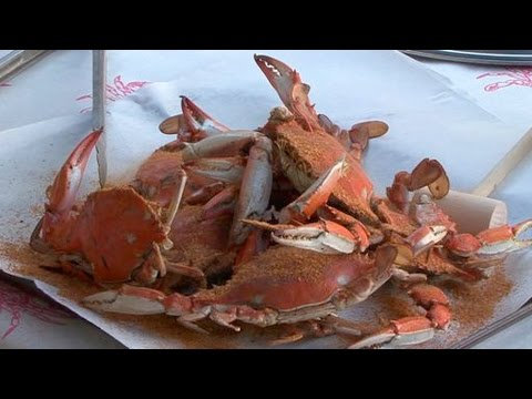 Cooking Crabs With A Kick