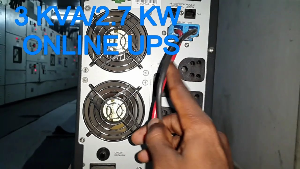 How To Connect Online Ups 3kva Connection Microtek 2kva Circuit Diagram In Tamil