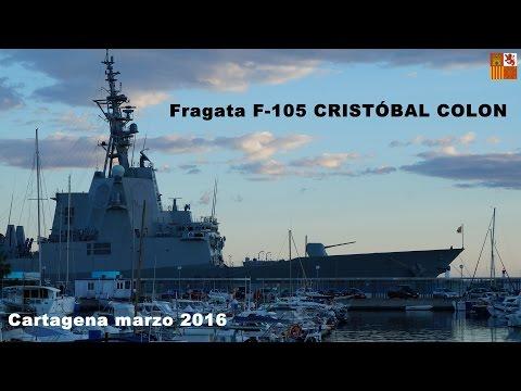 Fragata F 105 CRISTOBAL COLON