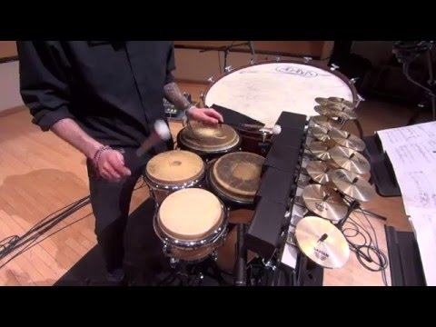 Granicus for Percussion and Tape by Nikos Stavropoulos