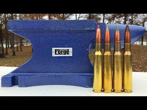 50 BMG vs Anvil