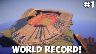 Minecraft GIGANTIC Stadium! +4 Million Blocks 1:1 scale [ DOWNLOAD ]