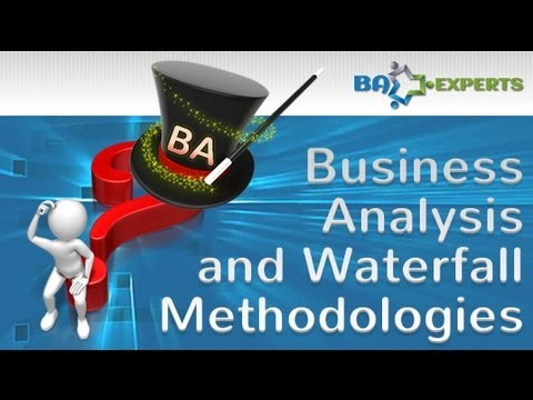 Business Analysis and Waterfall Methodologies - YouTube - best of blueprint software for business analyst