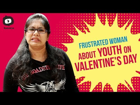 Frustrated Woman About Youth on Valentine's Day  FrustratedWoman Telugu Web Series  Sunaina