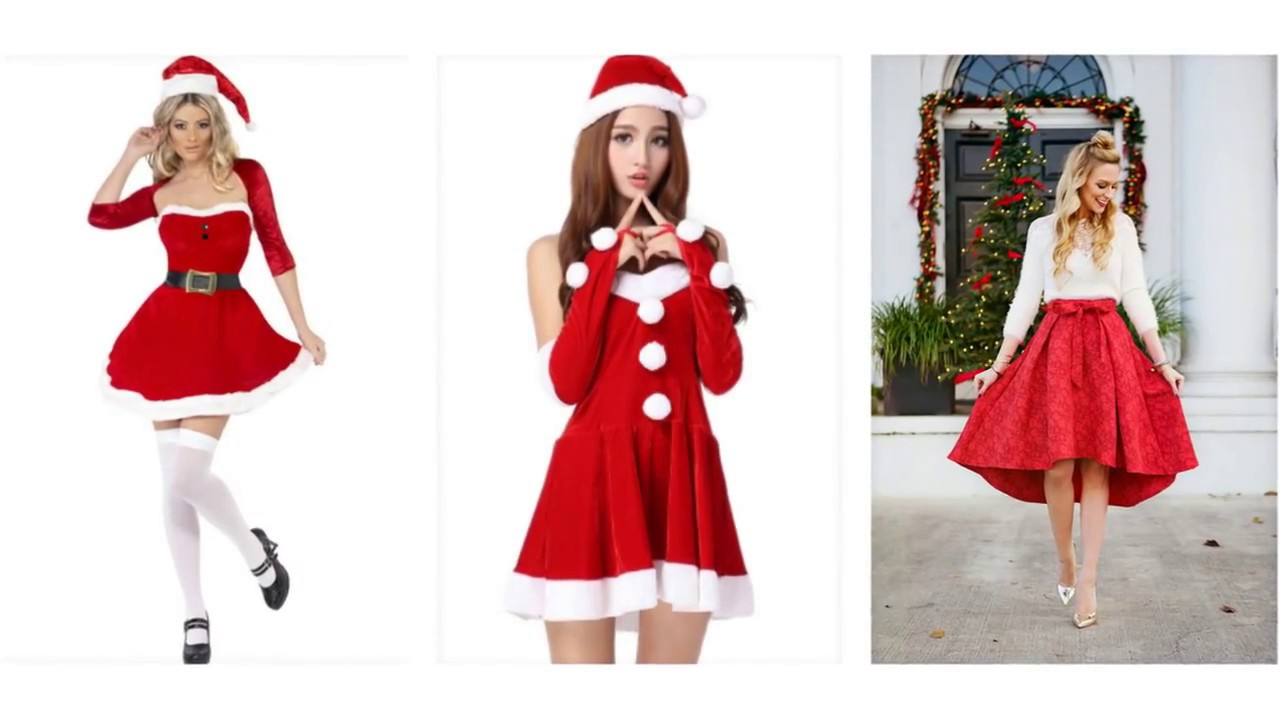 9e6fa3419f89 Top 100 Christmas dresses, christmas party dresses for girls - YouTube