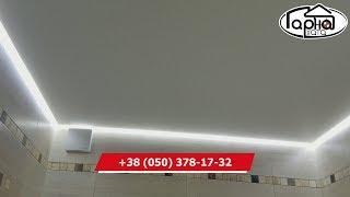як зробити рейкова стеля у ванній кімнаті