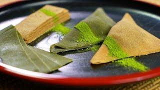 How to make Raw Yatsuhashi 生八つ橋の作り方 【ラファエル クッキング  Raphael cooking 4K】