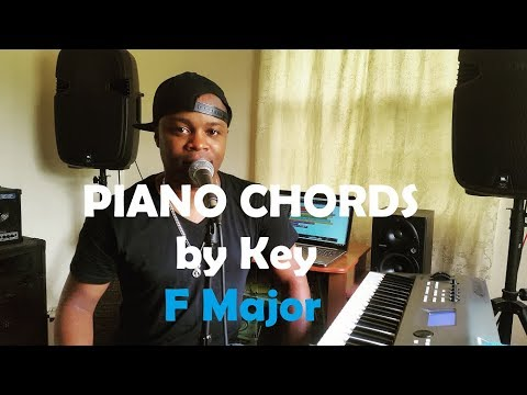 Chords By Key Piano Chords In The Key Of F Major Youtube