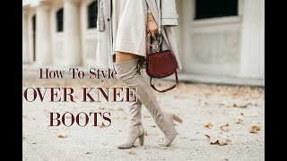 TOP 5 OVER KNEE BOOTS (£30 - £700!)  //  How To Style OTK Boots   //  Fashion Mumblr