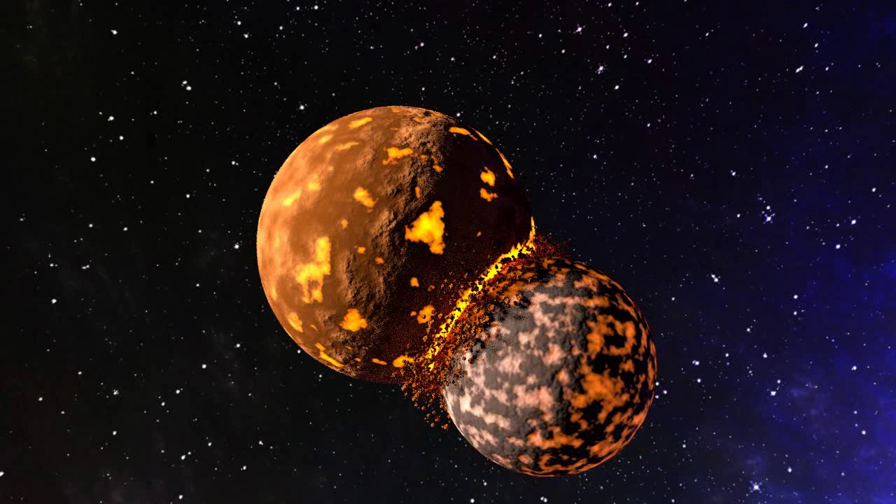 bb59ccc8d4a Blender planets colliding animation - YouTube